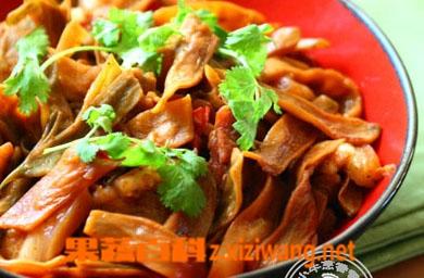 果蔬百科干扁豆蒸肉